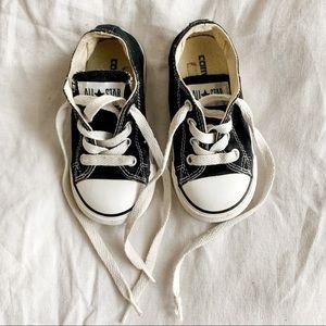Converse Black Sneaker Size Infant 6
